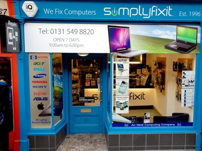 SimplyFixIt Stockbridge Edinburgh