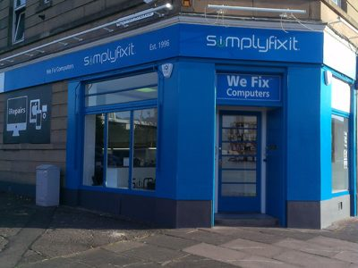 SimplyFixIt at Glasgow Road, in Corstorphine Edinburgh