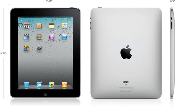 iPad 1 specifications.