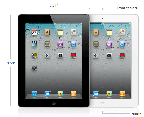 ipad 2 specifications.