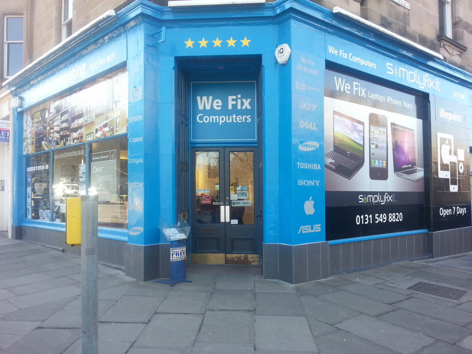 SimplyFixIt at Bruntsfield Place.