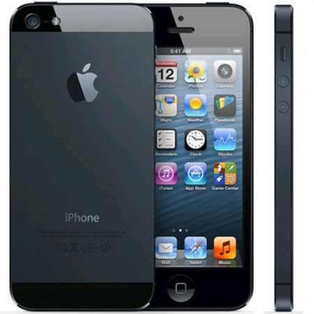 iPhone 5.