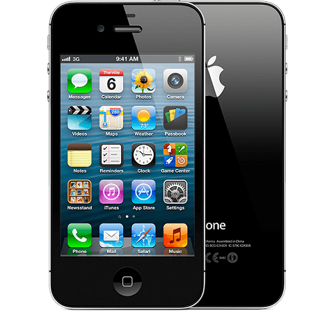 iPhone 4 or 4s.