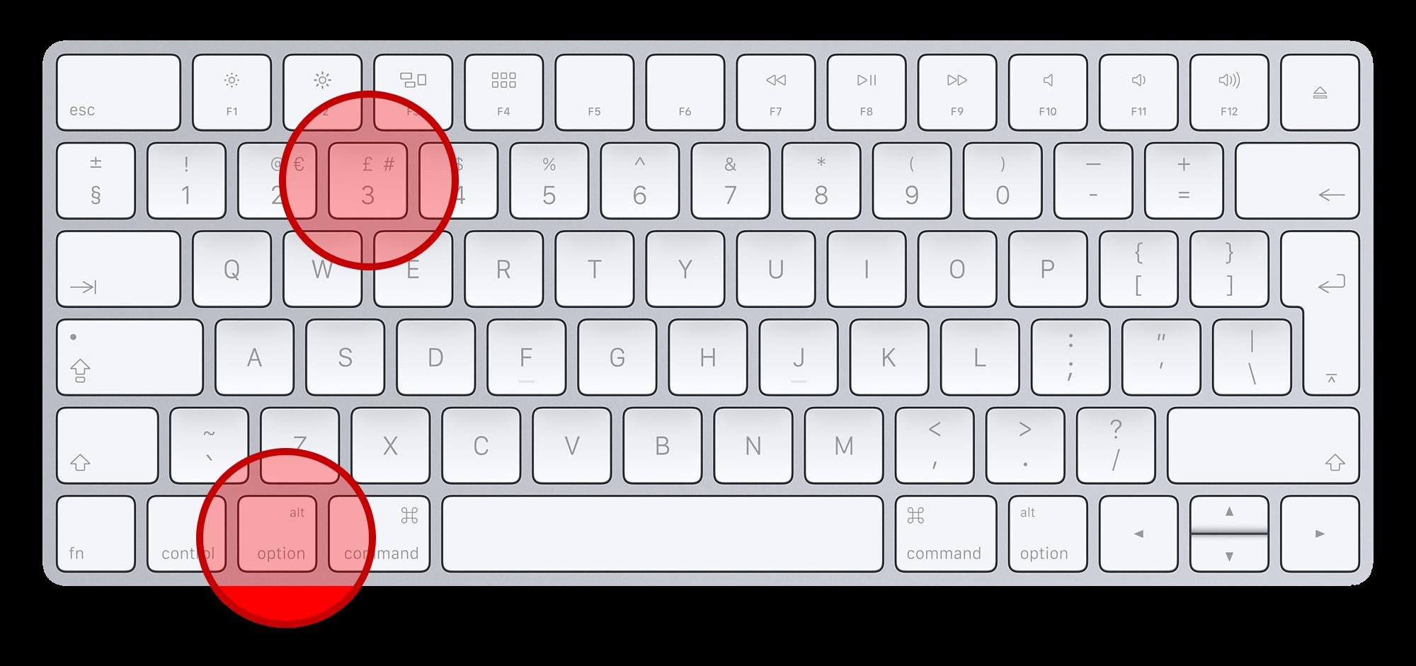 Как сделать скриншот на мак клавиатуре