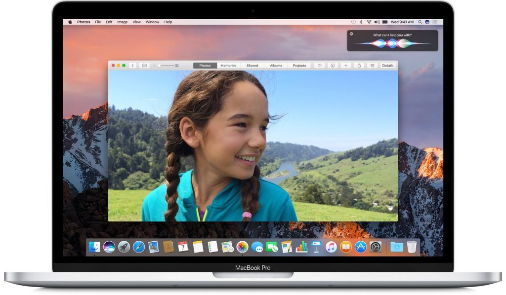 A Retina MacBook Pro from 2015