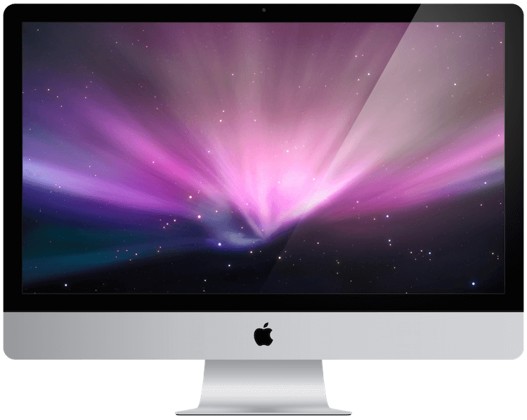 A picture of an apple iMac from 2011.