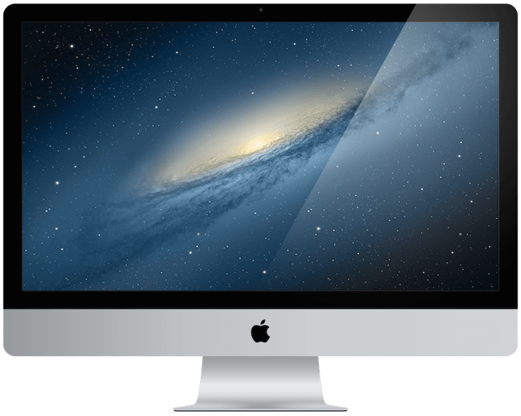 a picture showing an Apple iMac from 2012.