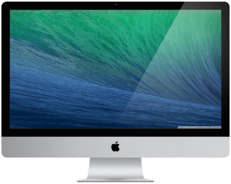a picture showing an Apple iMac from 2013.