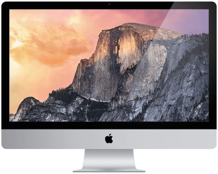 a picture showing an Apple iMac from 2014.