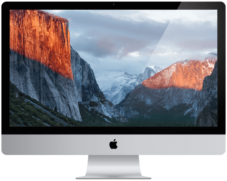 a picture showing an Apple iMac from 2015.