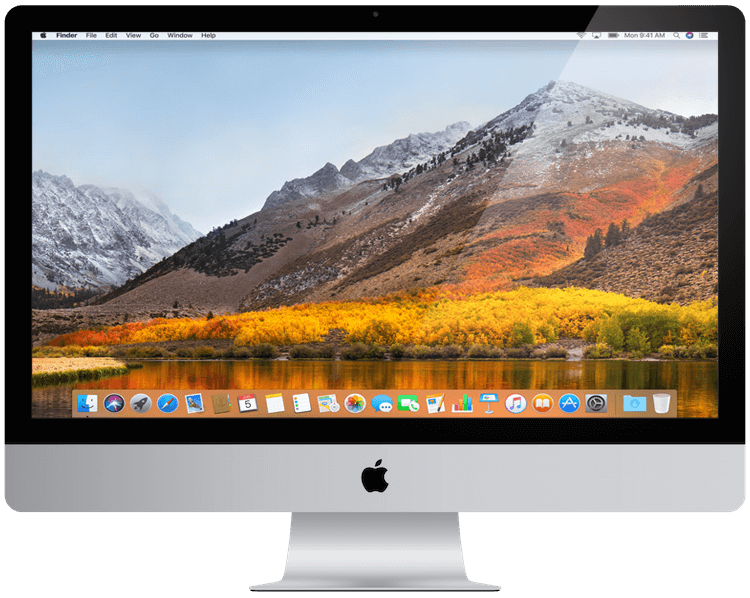 a picture showing an Apple iMac from 2017.