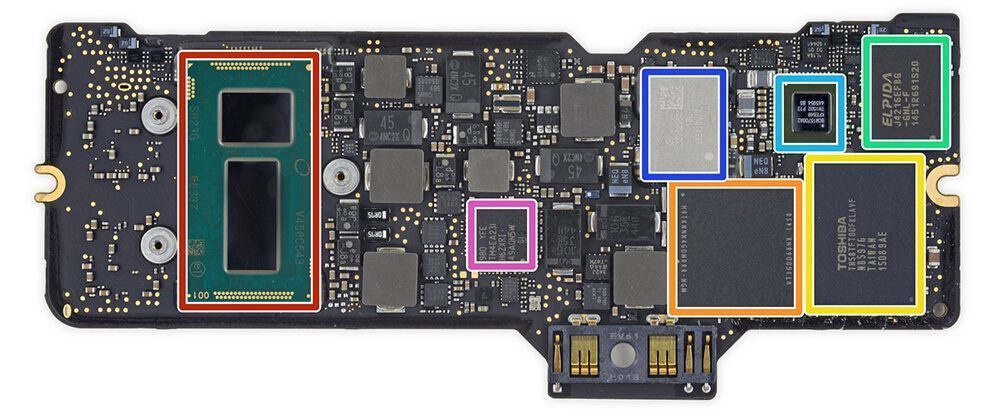A MacBook Air Main Logic Board