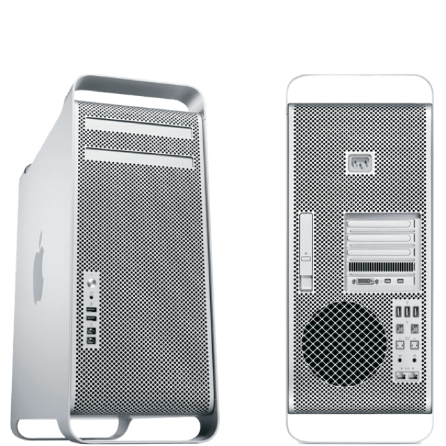 a first generation Mac Pro, which is also called the cheese grater because of the case style. It was available from 2006 until 2012