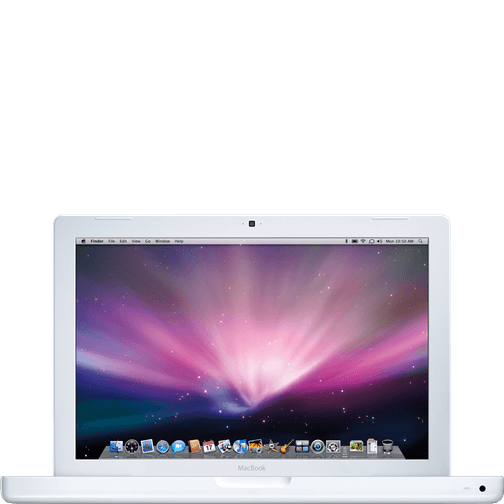 Apple A1181 White MacBook.