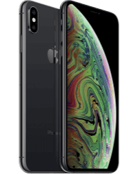 an iPhone XS, which is pronounced Ten S.