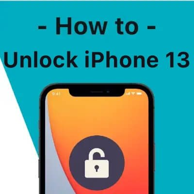 How to unlock an iPhone 12